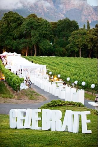 Giant Wedding Letter Rental